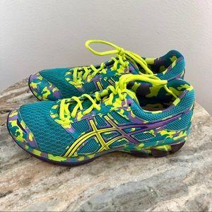 ASICS Gel frantic 7 aqua size 8.5 Running Shoes